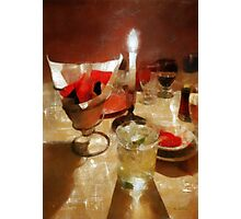 Drinks Before Dinner Photographic Print