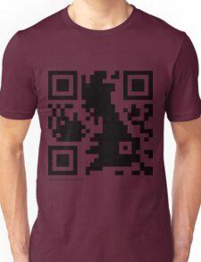 QR Code - Great Britain Unisex T-Shirt