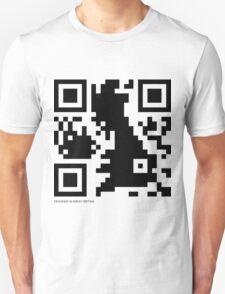 QR Code - Great Britain T-Shirt