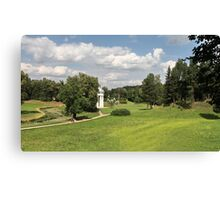 Scenic footpath Canvas Print