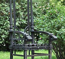 garden bench  by mrivserg