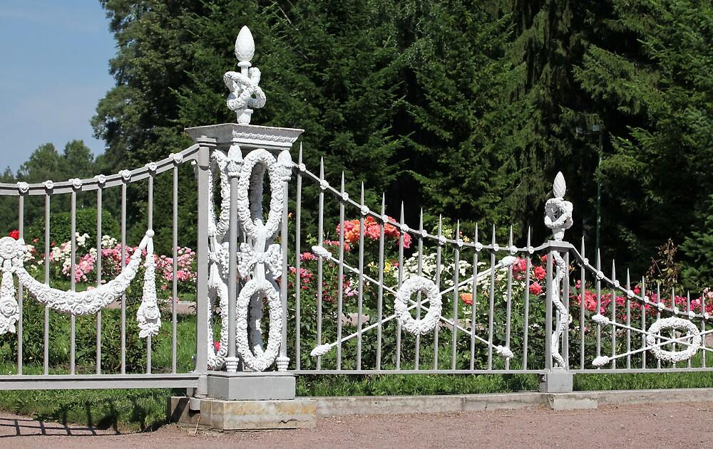 fence of garden by mrivserg