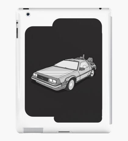 Back to the Future Delorean  iPad Case/Skin