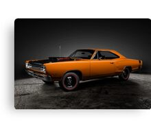 1969 Dodge Super Bee A12 Canvas Print