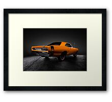 1969 Dodge Super Bee A12 Framed Print