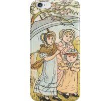 Vintage Three Girls under Umbrella iPhone Case iPhone Case/Skin