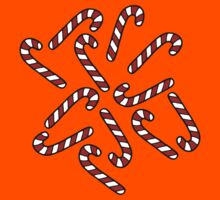 Candy Cane Pattern Kids Clothes