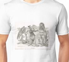 Ashes Cricket Punch cartoon 1899 W G Grace Unisex T-Shirt