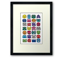 Monster Mash iphone case Framed Print