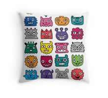 Monster Mash iphone case Throw Pillow