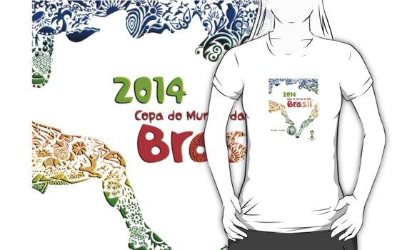 World Cup Brazil 2014 #1 by Vidka Art