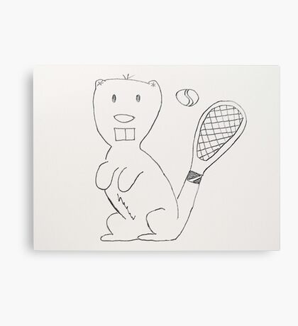 Any Beaver for Tennis?  Canvas Print