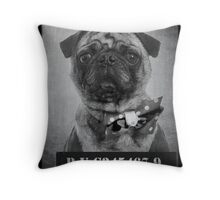 Bad Dog Throw Pillow