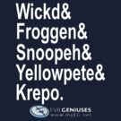 Wickd&Froggen&Snoopeh&Yellowpete&Krepo by Hollandkerel