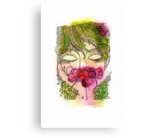 Cherry Girl Canvas Print