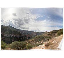 coper canyon, mexico Poster