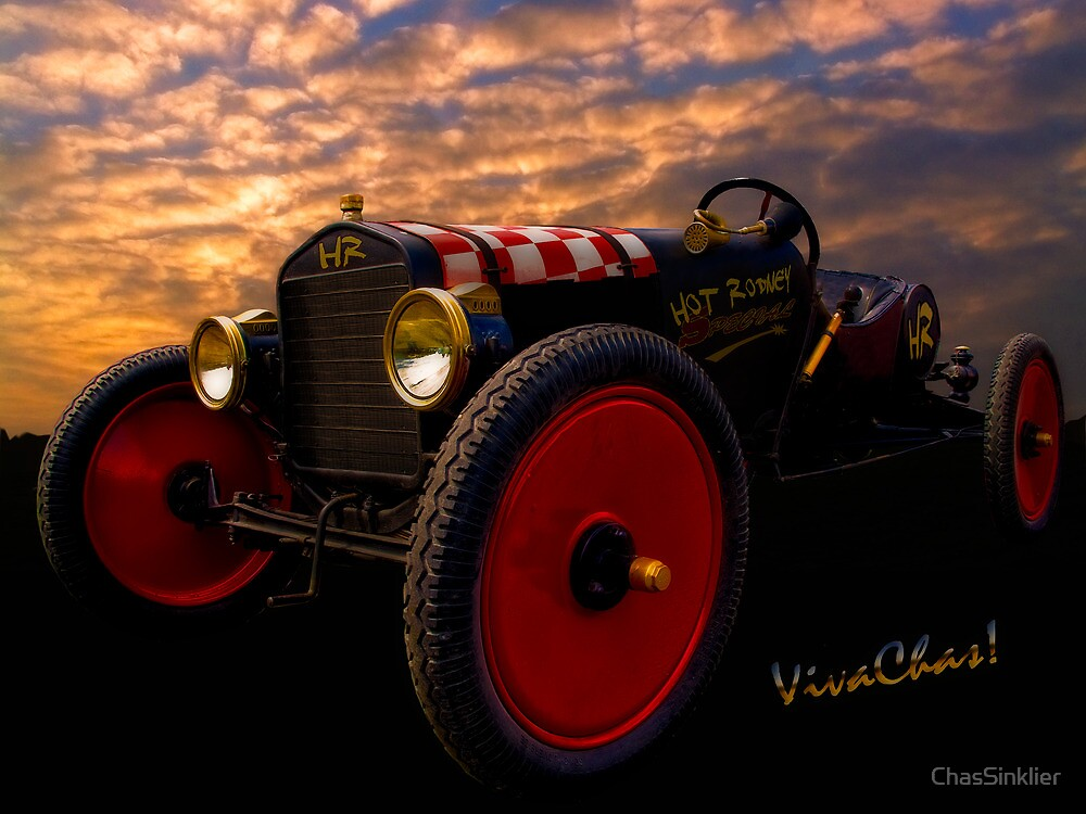 Ford Hot Rodney Special by ChasSinklier