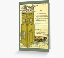 Greetings-Kate Greenaway-The Four Princesses Greeting Card