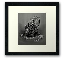 Creature From the Black Lavatory Framed Print