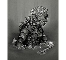 Creature From the Black Lavatory Photographic Print
