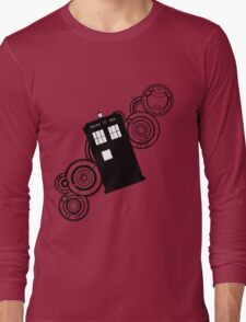 doctor who tardis r Long Sleeve T-Shirt