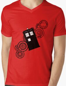 doctor who tardis r Mens V-Neck T-Shirt