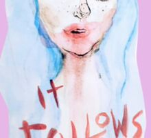 It Follows Sticker