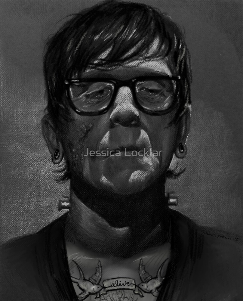 Frankenstein's Monster- The Hipster Years by SepiaDreamscape