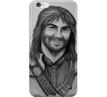 Aidan Turner as Kili from The Hobbit Trilogy iPhone Case/Skin