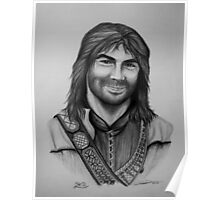 Aidan Turner as Kili from The Hobbit Trilogy Poster