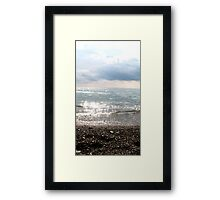 Just Stop! Framed Print