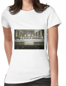 Kirk's Last Supper Womens Fitted T-Shirt
