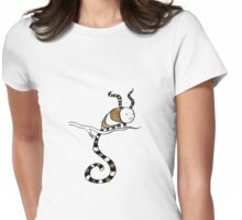 A Tail from a Branch Womens Fitted T-Shirt
