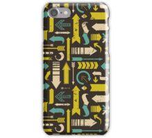 Grunge Arrows Pattern iPhone Case/Skin