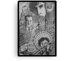 New Sherlock Dada Doll Canvas Print
