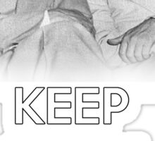 Keep Calm and Laugh! Eisenhower and Nixon Sticker