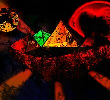 Pyramids in the space by brickinthewall