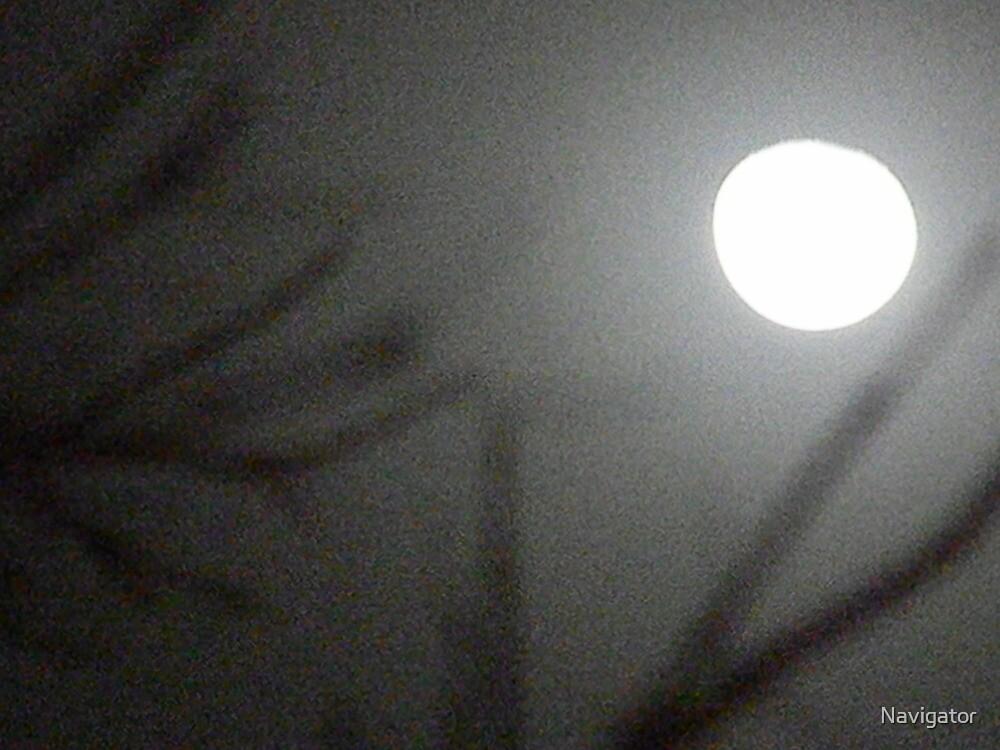 Hazy Wolf Moon by Navigator