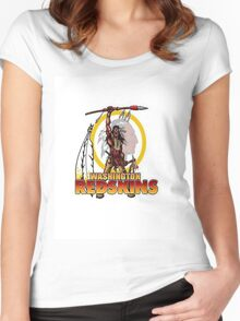 Redskins T-Shirt Women's Fitted Scoop T-Shirt