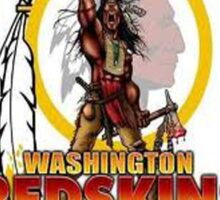 Redskins T-Shirt Sticker
