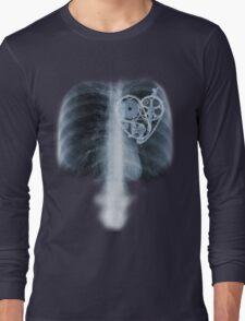 BiKE LOVE X Ray bicycle heart components Long Sleeve T-Shirt