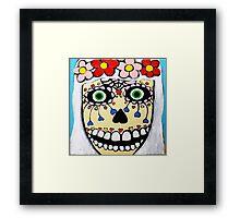 Skeleton Bride Framed Print
