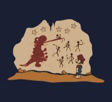 Mario Cave Paint Kids Tee