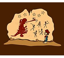 Mario Cave Paint Photographic Print