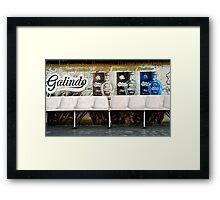 Galindo- Tequila Framed Print