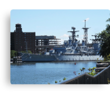 USS Little Rock Canvas Print