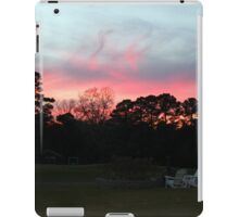 Colorful Sky Above The Trees iPad Case/Skin