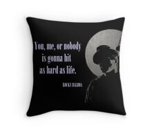 Rocky said.. Throw Pillow