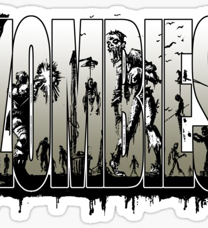 Bruyn - Zombies 06 Sticker