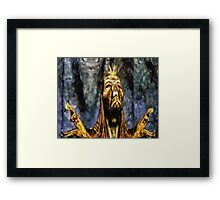 Dragon Priest Framed Print